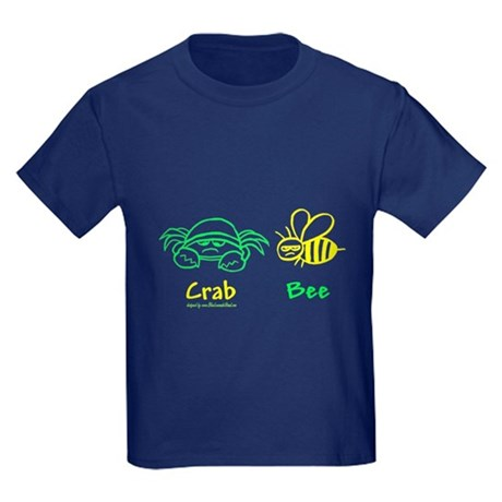 Crab Bee Kids Dark T-Shirt