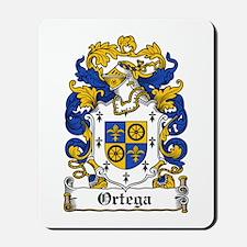 Ortega Family Crest Mousepad