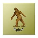 Bigfoot Drink Coasters
