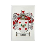 Olson Family Crest Rectangle Magnet (10 pack)