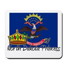 North Dakota Princess Mousepad