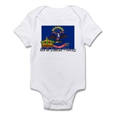North Dakota Princess Infant Bodysuit