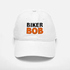 BIKER BOB Baseball Baseball Cap