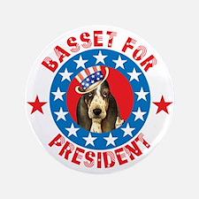 "Vote for Basset 3.5"" Button"