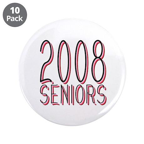 "Mechanihan Red 2008 3.5"" Button (10 pack)"