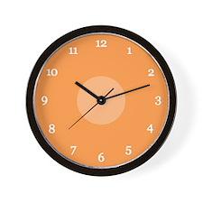 Peach Wall Clock (04W)