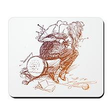 Tangled Knitter Mousepad