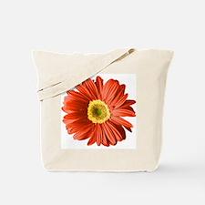 Pop Art Red Gerbera Daisy Tote Bag