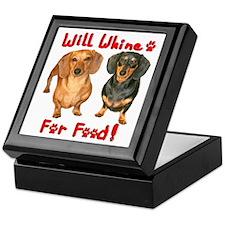 Will Whine Keepsake Box