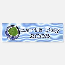Earth Day Bumper Bumper Bumper Sticker
