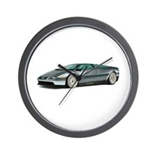 Cute De lorean Wall Clock