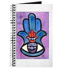 Double Eye Hamsa Art Journal
