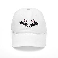 black bunnies Baseball Cap
