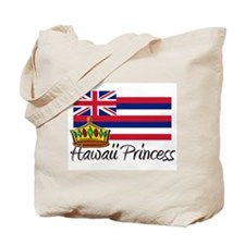 Hawaii Princess Tote Bag