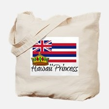 Hawaii Princess Tote Bag