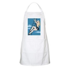 Climbing Ladder Girl BBQ Apron