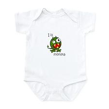 I Is Monsta monster Infant Bodysuit