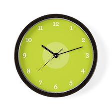 Green Wall Clock (08W)