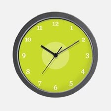 Green Wall Clock (08W)