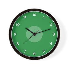 Green Wall Clock (13W)