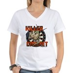 Killer Cricket Women's V-Neck T-Shirt