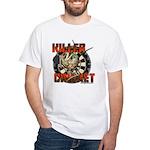 Killer Cricket White T-Shirt
