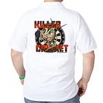 Killer Cricket Golf Shirt