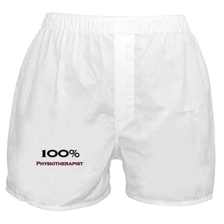 100 Percent Physiotherapist Boxer Shorts