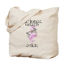 National Guard Chick Tote Bag
