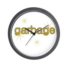Nice Garbage Wall Clock