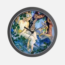 QUEEN OF THE GNOMES Wall Clock