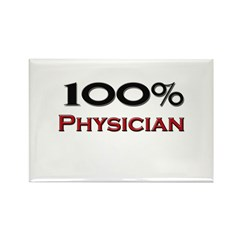 100 Percent Physician Assistant Rectangle Magnet