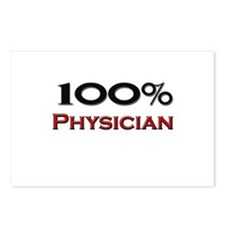 100 Percent Physician Assistant Postcards (Package