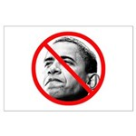 Anti Barack Obama Large Poster
