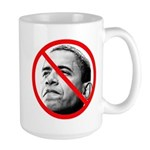 Anti Barack Obama Large Mug
