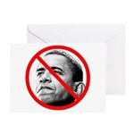 Anti Barack Obama Greeting Cards (Pk of 20)