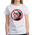 Anti Barack Obama (Front) Women's T-Shirt