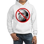 Anti Barack Obama (Front) Hooded Sweatshirt