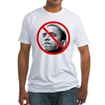 Anti Barack Obama (Front) Fitted T-Shirt