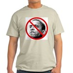 Anti Barack Obama (Front) Light T-Shirt
