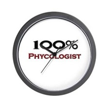 100 Percent Phycologist Wall Clock