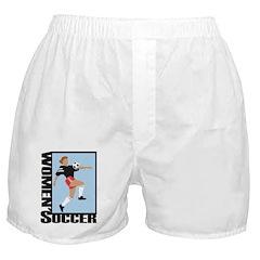 Women Soccer Boxer Shorts
