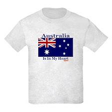 Australia - Heart T-Shirt