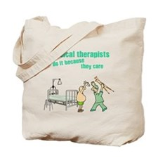 Physical Therapists Tote Bag