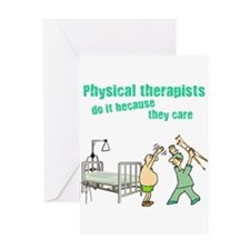 Physical Therapists Greeting Card