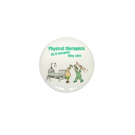 Physical Therapists Mini Button (10 pack)