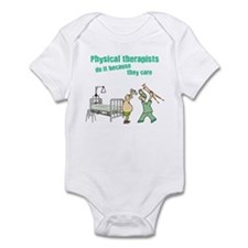 Physical Therapists Infant Bodysuit