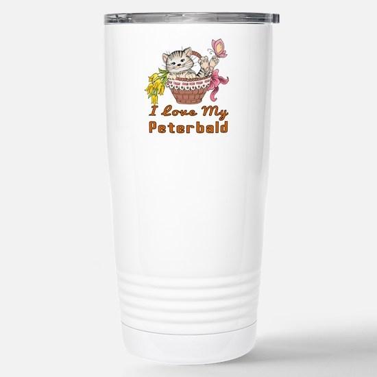 I Love My Peterbald Des Stainless Steel Travel Mug