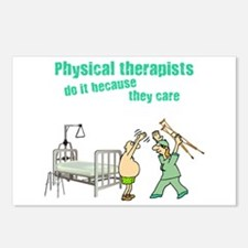 Female Physical Therapist Postcards (Package of 8)