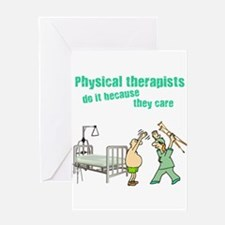 Female Physical Therapist Greeting Card